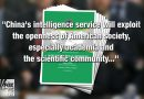 China trying to infiltrate US colleges to recruit spies, indoctrinate students, intelligence agencies say by Eric Shawn
