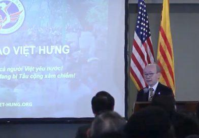 VH-MRVN Dr. Long Nguyen's Speech in Houston
