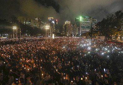 Tưởng niệm Thiên An Môn: 180 ngàn dân Hồng Kông canh thức