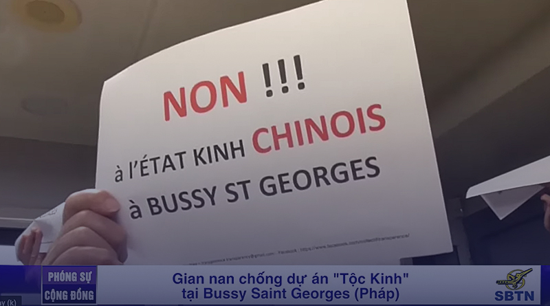 """The group that created the """"Tộc Kinh"""" (Gin people) script in France failed."""