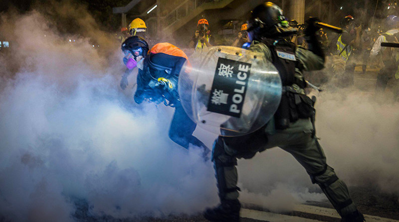 U.S. calls China 'thuggish regime' for singling out U.S. diplomat in Hong Kong