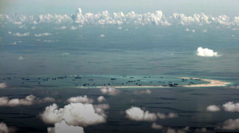 Is China becoming more and more dominant in the South China Sea?