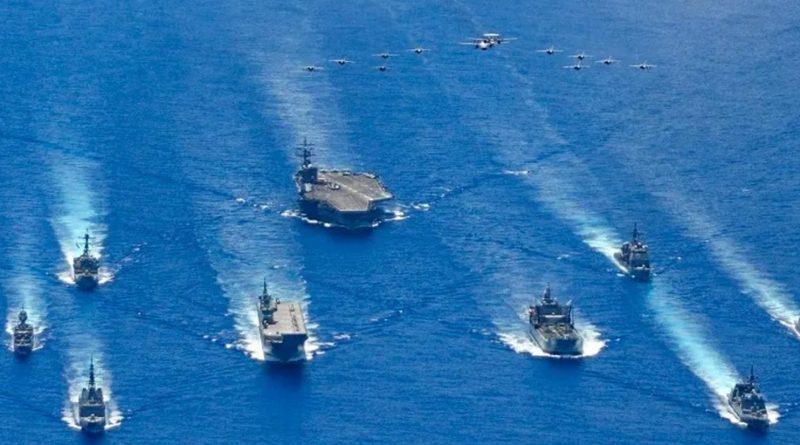 Liên minh do Mỹ đứng đầu bao vây tham vọng trên biển của Trung Quốc