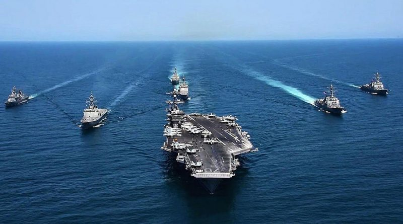 US Theodore Roosevelt Carrier Strike Group Back in South China Sea