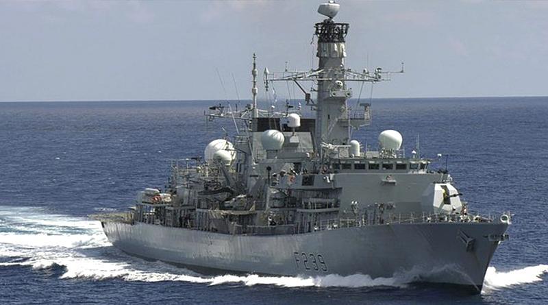 British Warship Passes Through Taiwan Strait, Angering China