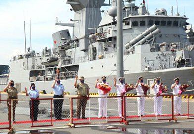 Australian Navy Ships Touring SE Asia Make Port Call in Vietnam